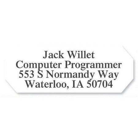 Octagon  Premier Return Address Labels