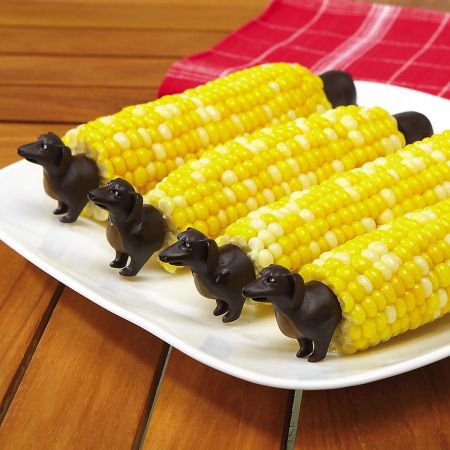 Dog Corn Holders Sets
