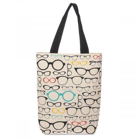 Book Club Glasses Tote Bag