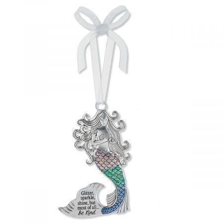 Glitter, Sparkle, Shine Mermaid Ornament