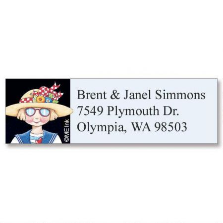 Ann Estelle Classic Address Labels