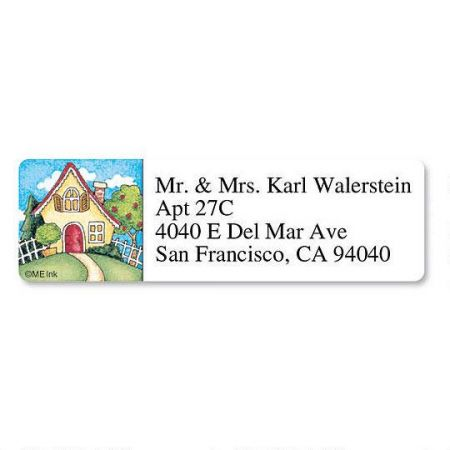 Home Sweet Home  Classic Return Address Labels