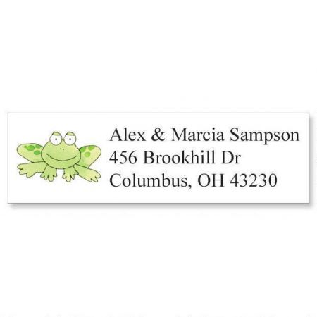 Froggy Classic Address Labels