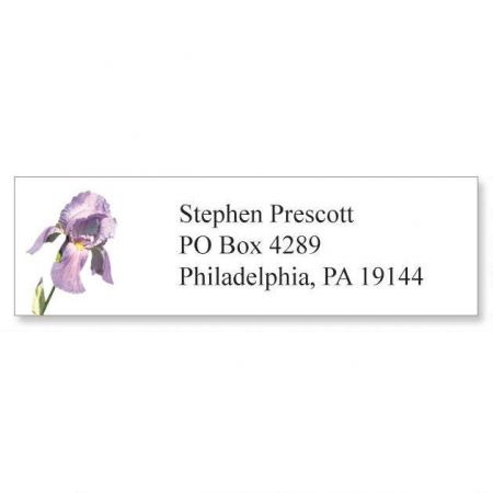 Spring Floral Classic Address Labels