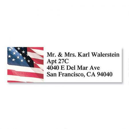 American Glory  Classic Address Labels