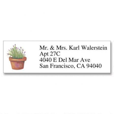 Herbs Classic Address Labels
