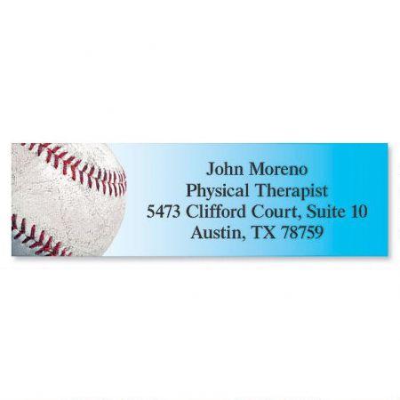 Baseball Classic Address Labels