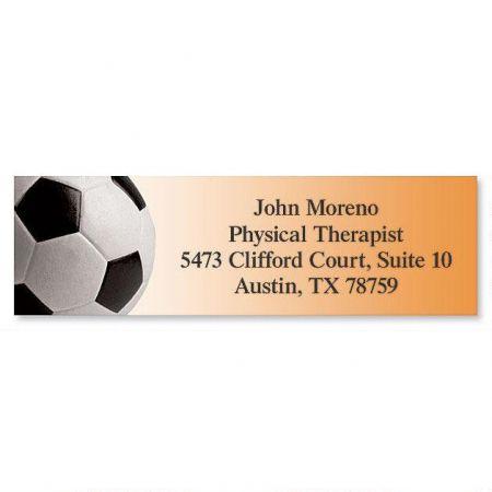Soccer Classic Return Address Labels