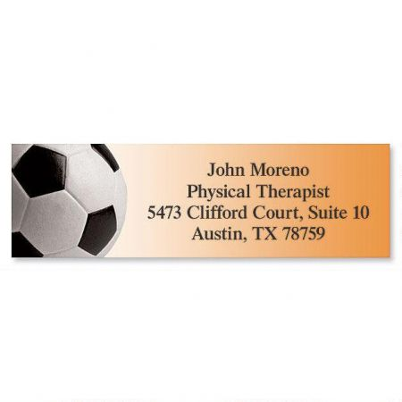 Soccer Classic Address Labels