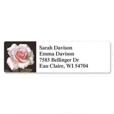 Pretty in Pink Classic Return Address Labels