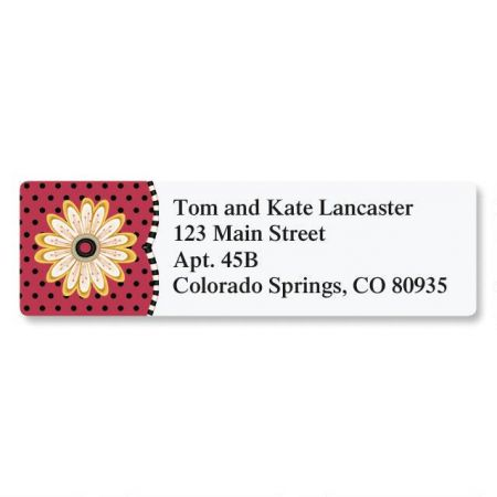 Spanish Flair Classic Address Labels