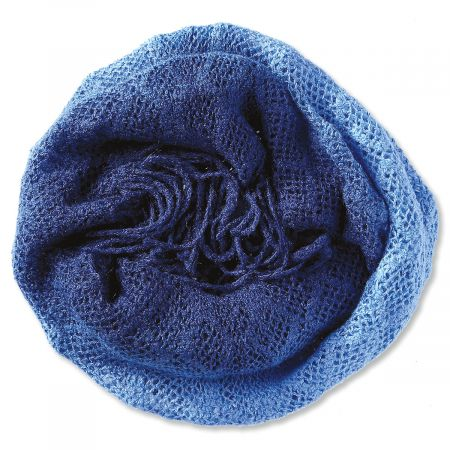 Infinity Scarf - Navy Blue Ombre