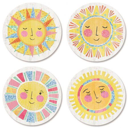 Hello Sunshine Envelope Seals (4 Desgins)