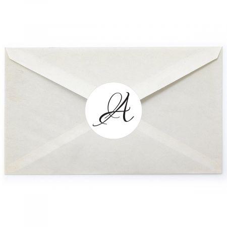 Brush Initial Envelope Seals