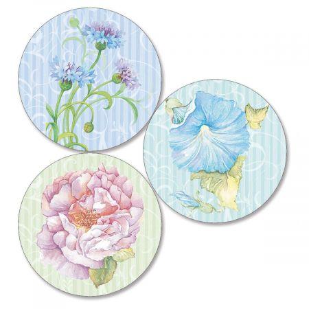 Elaborate Floral Envelope Seals   (3 Designs)