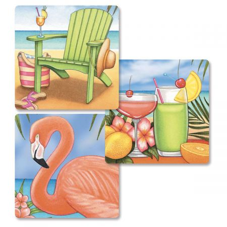 Bahama Breeze Envelope Seals   (3 Designs)