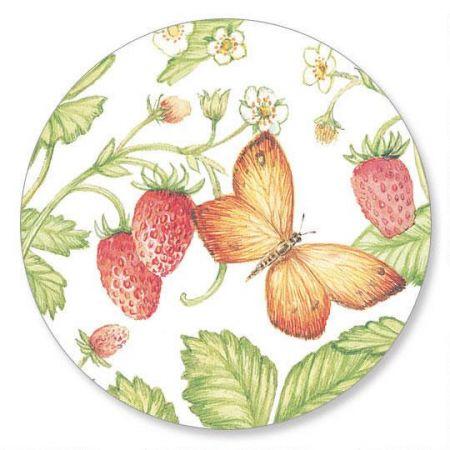 Strawberries  Envelope Seals   (1 Design)