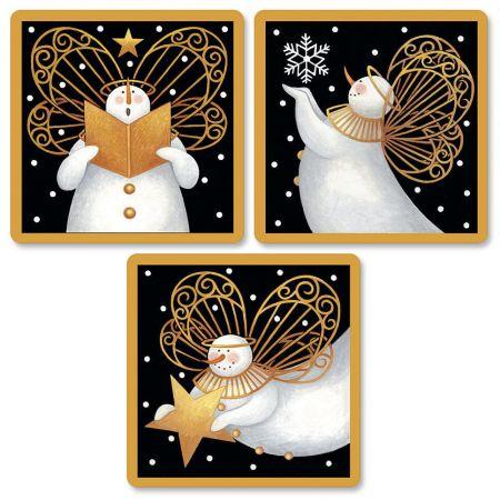 Snow Angel Envelope Seals  (3 Designs)