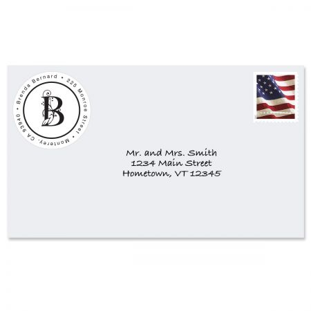 Formal Initial Round Return Address Labels