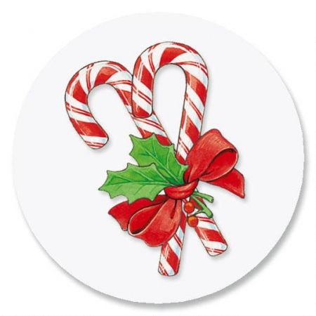 Peppermint Candies Envelope Seals