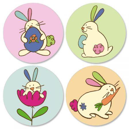 Egg-citing Easter Envelope Seals  (4 Designs)