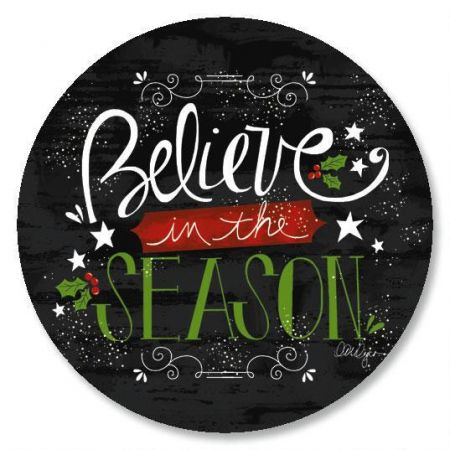 Believe In The Season Envelope Seals