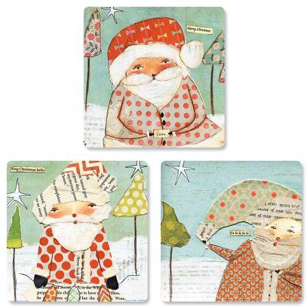 Dear Santa Envelope Seals (3 Designs)