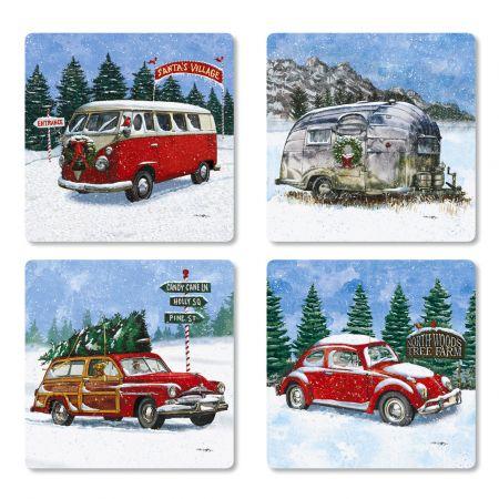 Winter Traveler Envelope Seals (4 Designs)