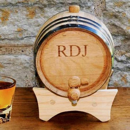 Age Your Own Whiskey Mini Personalized Whiskey Barrel Kit