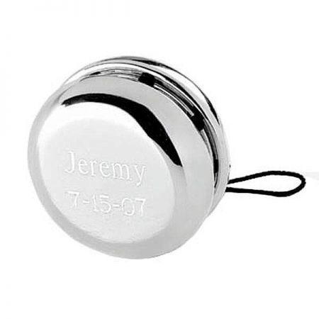 Silver-Plated Personalized Yo-Yo