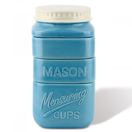 Mason Jar Stacking Measuring Cups