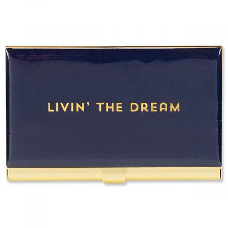 Livin' The Dream Business Card Holder