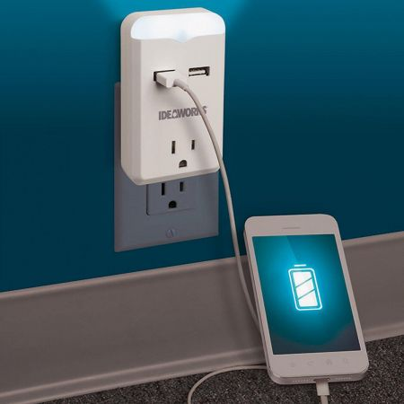 USB Outlet Night Light