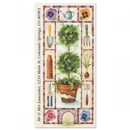 Garden Artistry Oversized Return Address Labels