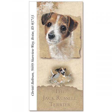 Jack Russell Terrier Oversize Address Labels