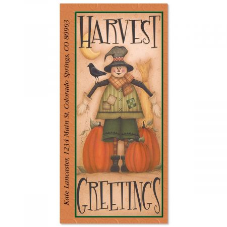 Harvest  Oversized Return Address Labels