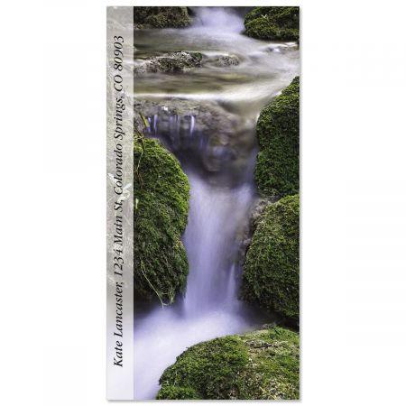 Rio Waterfall  Oversized Return Address Labels