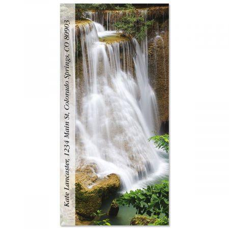 Waterfall Cascade  Oversized Return Address Labels