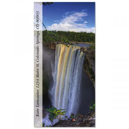 Kaieteur Falls  Oversized Return Address Labels