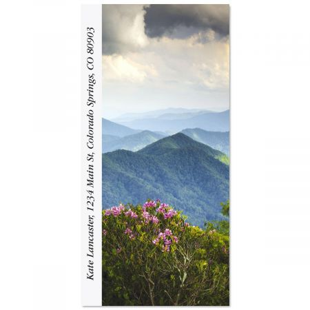 Blue Ridge Mountains Oversized Address Labels