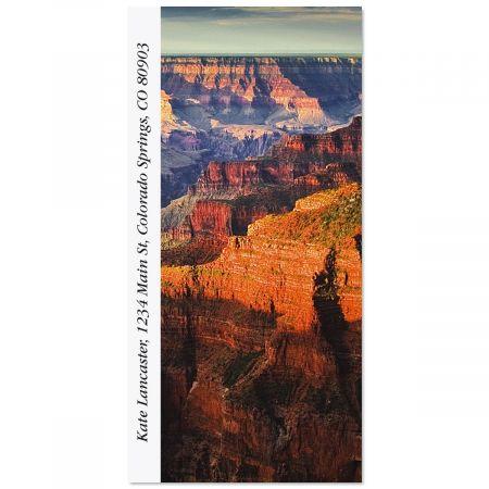 Grand Canyon National Park Oversized Return Address Labels