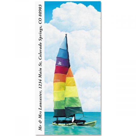 Sailboat Oversized Address Labels