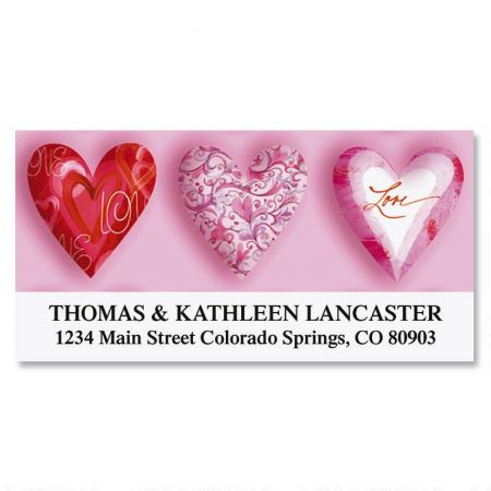 Special Heart Deluxe Return Address Labels