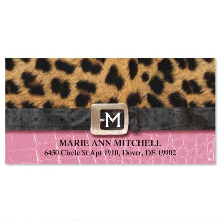 Fashionista Deluxe Address Labels