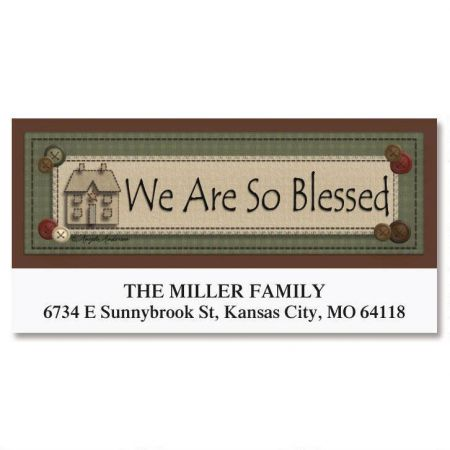 Blessed Deluxe Return Address Labels