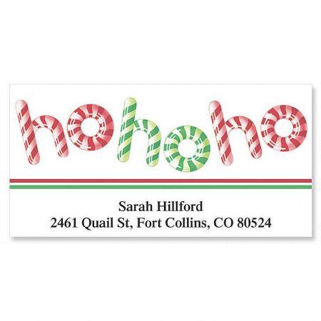 Ho Ho Ho Deluxe Address Labels