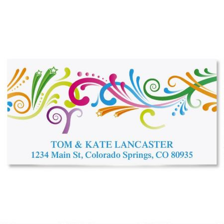 Party Spirit Deluxe Return Address Labels