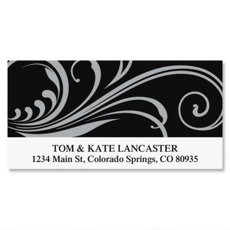 Stylish Deluxe Return Address Labels