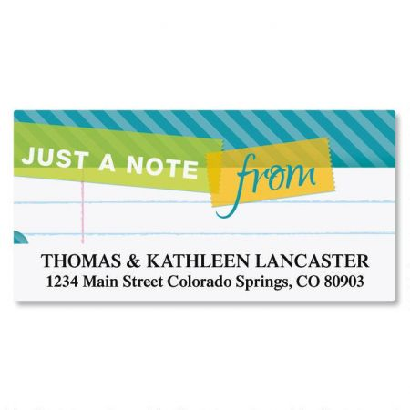 Tape a Note Deluxe Return Address Labels