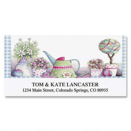 Topiary Garden Deluxe Return Address Labels